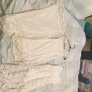 3 All white dresses!